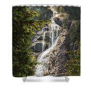Scenic Of Shannon Fallsbritish Columbia Shower Curtain
