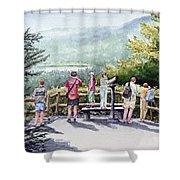 Scenic Overlook Shower Curtain