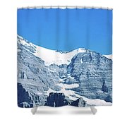 Scenic View Of Eiger And Monch Mountain Shower Curtain