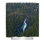 Scenic Waterfall Shower Curtain