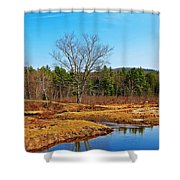 Scenic Winchester Shower Curtain
