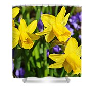 Scent Harmony Shower Curtain