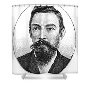 Schalk Willem Burger (1852-1918) Shower Curtain