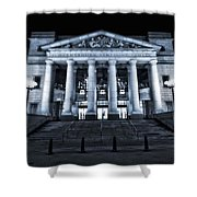 Schermerhorn Symphony Center Shower Curtain by Dan Sproul