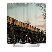 Schoenhauser Allee Berlin Shower Curtain
