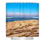 Schoodic Point 5862 Shower Curtain