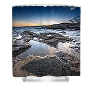 Schoodic Reflections Shower Curtain