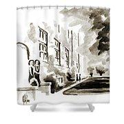 School Days At Ursuline II Shower Curtain by Kip DeVore