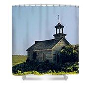 School House 66 Shower Curtain