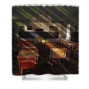 School - Old School Charm  Shower Curtain