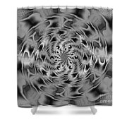 Schooling Fish 2 Shower Curtain