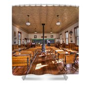 Schools Out For Summer   Shower Curtain by L Wright