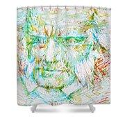 Schopenhauer Shower Curtain
