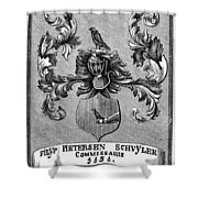Schuyler Family Arms Shower Curtain