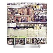 Schuylkill Scenery Shower Curtain