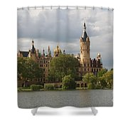 Schwerin Palace - Germany Shower Curtain