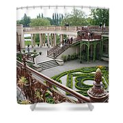 Schwerin The Orangery Shower Curtain