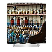 Science - My Chemistry Set Shower Curtain by Paul Ward