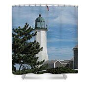 Scituate Light Five Shower Curtain