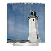 Scituate Light Four Shower Curtain