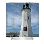 Scituate Light Three Shower Curtain