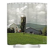 Scoharie New York Farm Shower Curtain