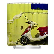 Scooter Shower Curtain