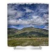 Scotland Loch Awe Mountain Landscape Shower Curtain