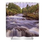 Scotland's Falls Of Dochart - Killin Scotland Shower Curtain