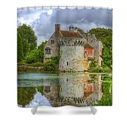 Scotney Castle Reflections Shower Curtain
