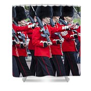 Scots Guards Shower Curtain