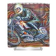 Scott 2 Shower Curtain by Mark Howard Jones