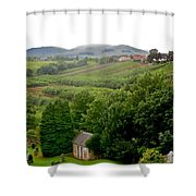 Scottish Countryside Shower Curtain
