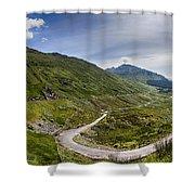 Scottish Highlands Landscape Shower Curtain