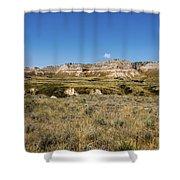 Scotts Bluff National Monument - Scottsbluff Nebraska Shower Curtain