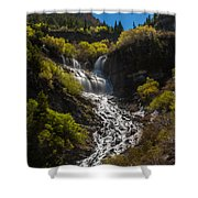 Scout Falls Shower Curtain