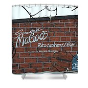 Scratch Magoo's Wilmington De Shower Curtain