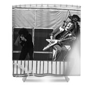 Screaming Guitsr Of J. Geils 1976 Shower Curtain