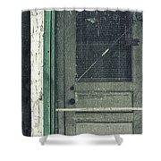 Screen Door Shower Curtain