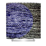 Screen Orb-23 Shower Curtain