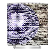 Screen Orb-26 Shower Curtain
