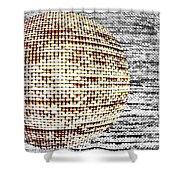 Screen Orb-29 Shower Curtain