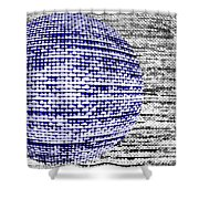 Screen Orb-32 Shower Curtain