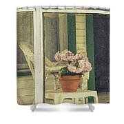 Screened Porch Shower Curtain