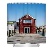 Scrimshaw Shower Curtain