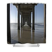 Scripps Pierla Jolla California Shower Curtain