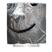 Sculp Face Shower Curtain