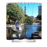 Sculpture Hartford Shower Curtain