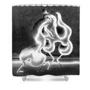 Sculpture Of Love Shower Curtain