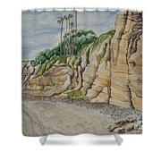 Sd Cliffs Shower Curtain